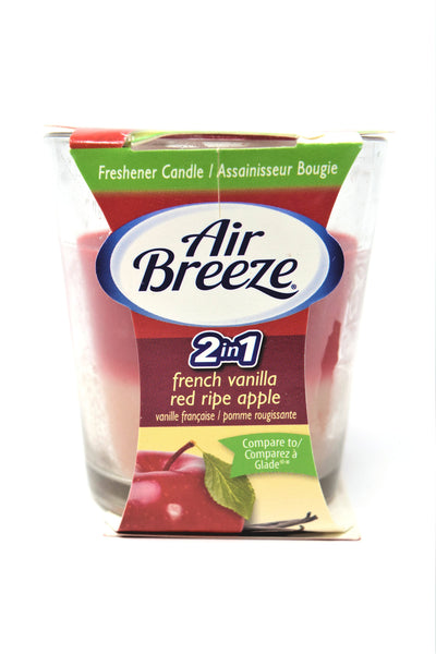 Air Breeze 2-in-1 French Vanilla & Red Ripe Apple, 3 oz.