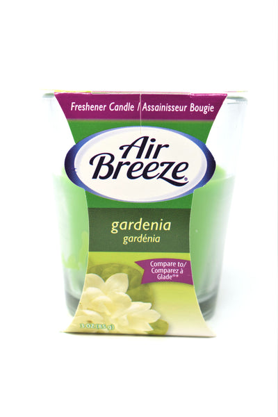 Air Breeze Gardenia Scented Candle, 3 oz.