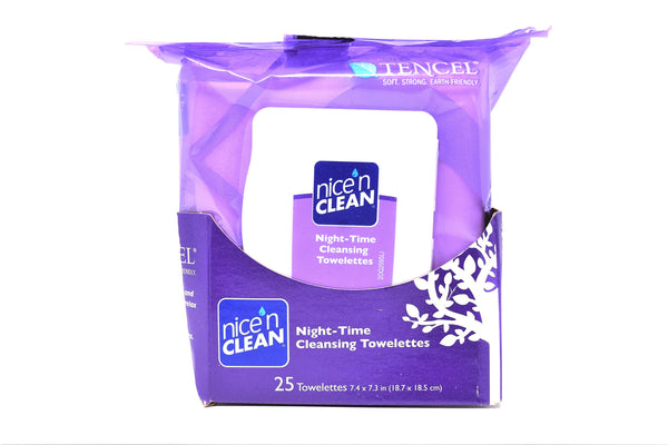 Nice N' Clean Night Time Cleansing Towelettes, 25 ct.