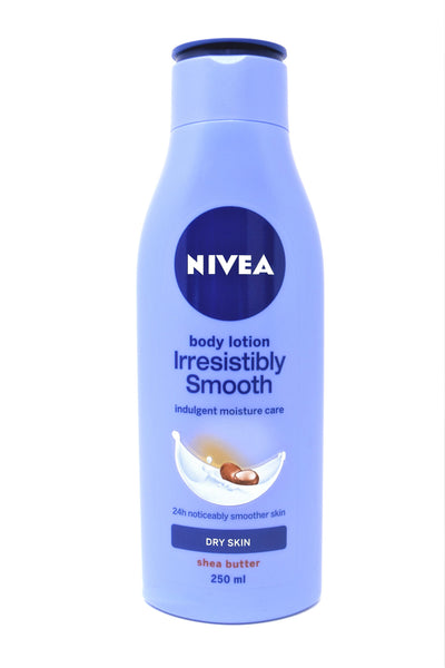 Nivea Body Lotion Irresistibly Smooth Dry Skin Lotion, 250 mL