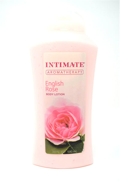 Intimate Aromatherapy English Rose Body Lotion, 20 oz.