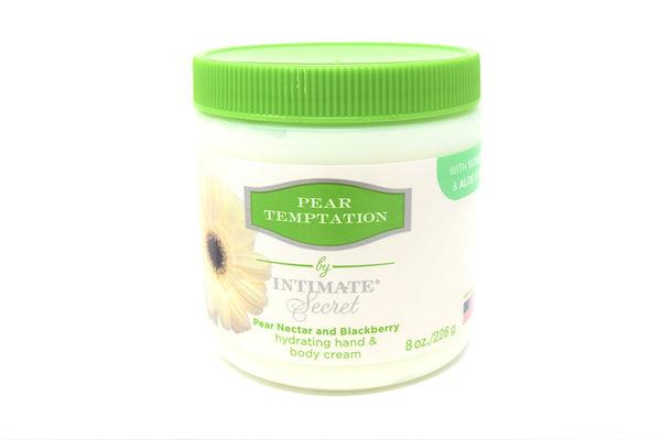 Intimate Secret Pear Temptation Hydrating Hand & Body Cream, 8 oz.