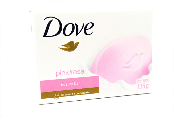 Dove Pink Rose Bar Soap, 1 ct.