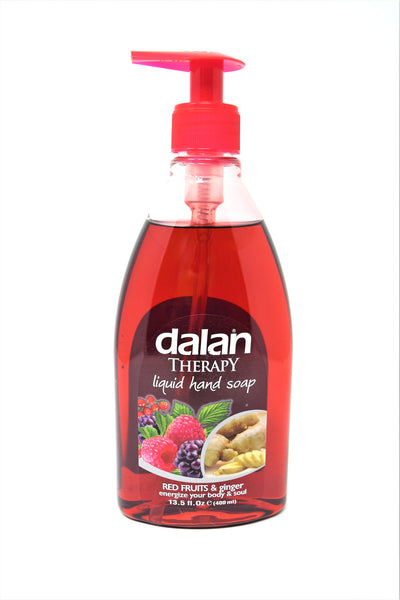 Dalan Therapy Liquid Hand Soap Red Fruits & Ginger, 13.5 oz