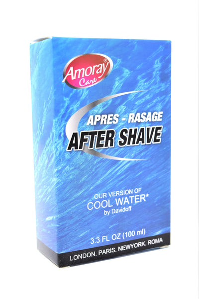 Amoray Care After Shave Cool Water Version, 3.3 Oz.