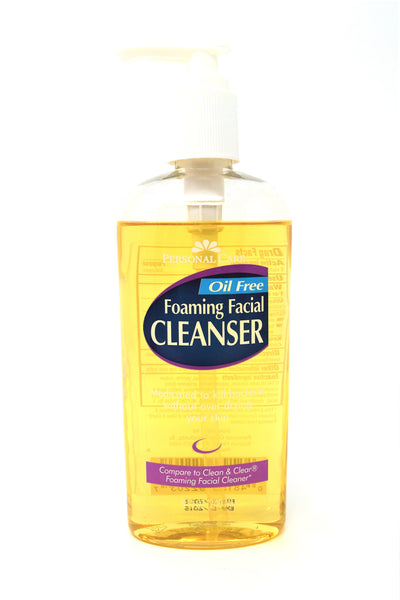 Personal Care Oil Free Foaming Facial Cleanser, 8 Oz.