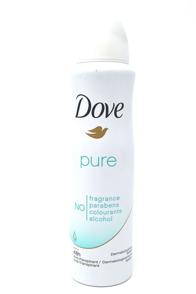 Dove Pure Dermatologist Tested Antiperspirant Deodorant