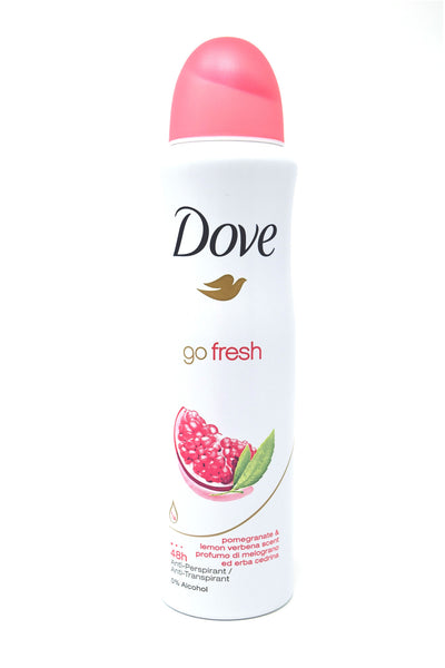 Dove Go Fresh Pomegranate & Lemon Verbena Scent Antiperspirant Deodorant