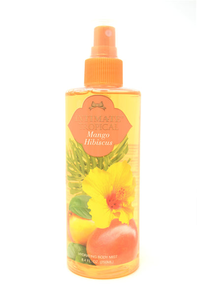 Intimate Tropical Mango Hibiscus Hydrating Body Mist, 8.4 oz