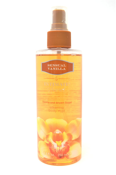 Intimate Secret Sensual Vanilla & Brown Sugar Silkening Body Mist, 8.4 oz.