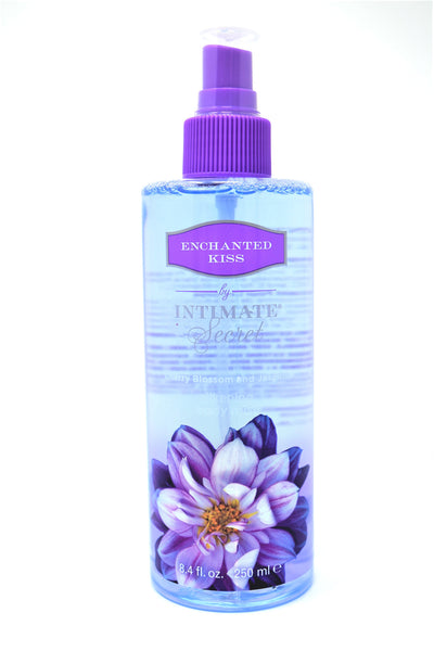 Intimate Secret Enchanted Kiss Cherry Blossom & Jasmine Silkening Body Mist, 8.4 oz.