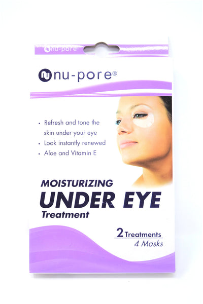 Nu-Pore Moisturizing Under Eye Treatment, 2 Treatments, 4 Masks