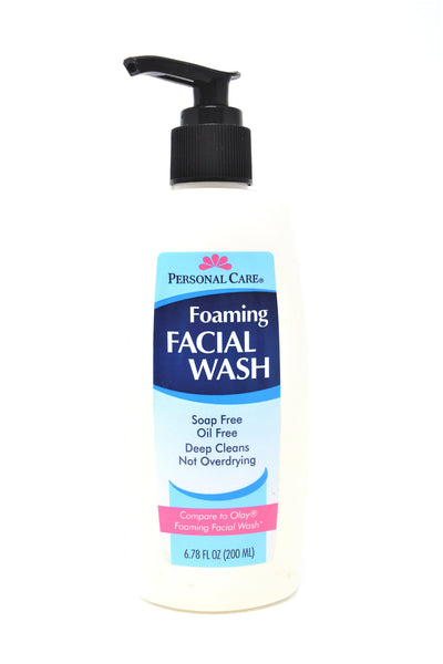 Personal Care Foaming Facial Wash, 6.78 Oz.