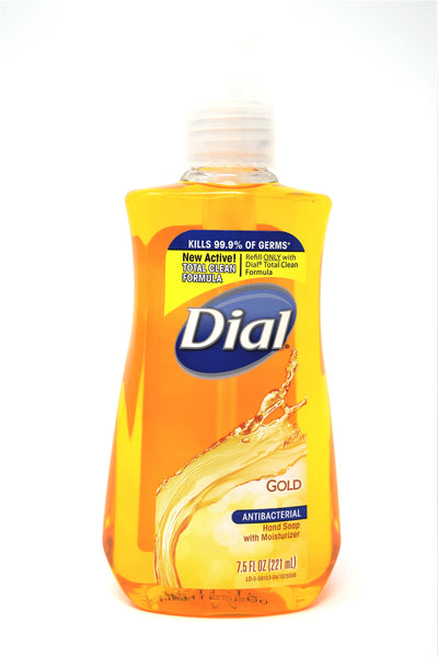 Dial Gold Antibacterial Hand Soap With Moisturizer, 7.5 oz
