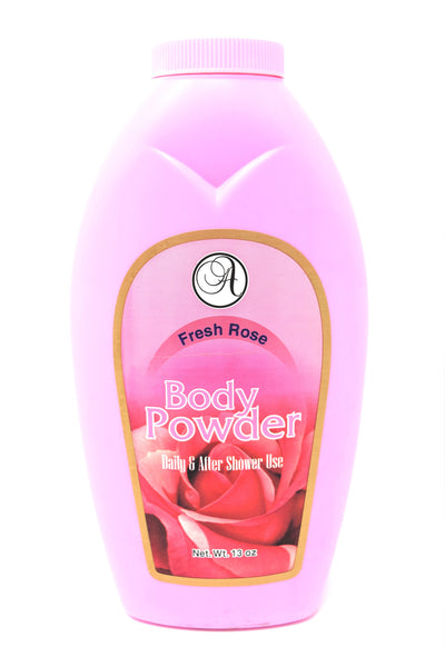 Body Powder Fresh Rose Daily & After Shower Use, 13 oz.