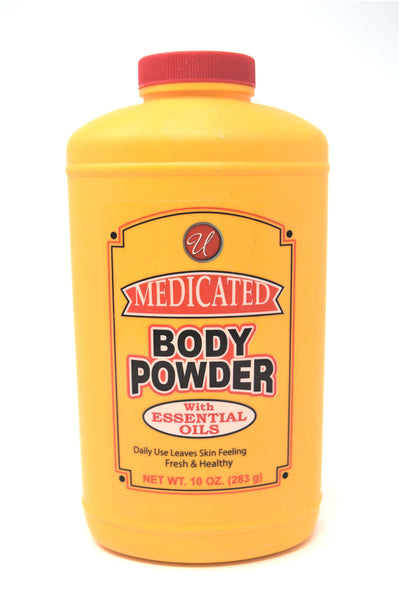 Universal Medicated Body Powder With Essential Oils, 10 oz.