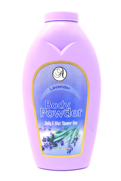 Body Powder Lavender Daily & After Shower Use, 13 oz.
