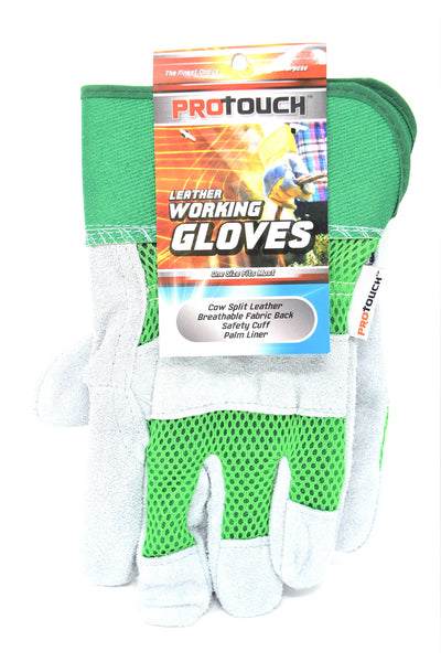 ProTouch Leather Working Gloves