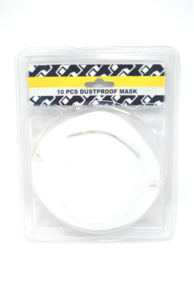Dust Mask, 10 Pieces