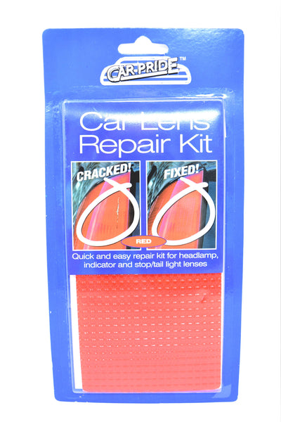 Car Pride Car Lens Repair Kit, Red Color
