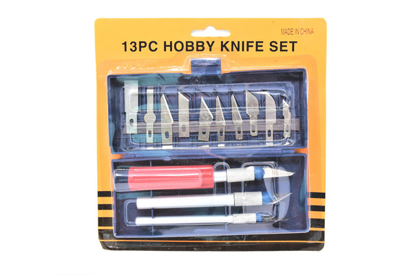 13 Piece Hobby Knife Set, Compares to Xacto