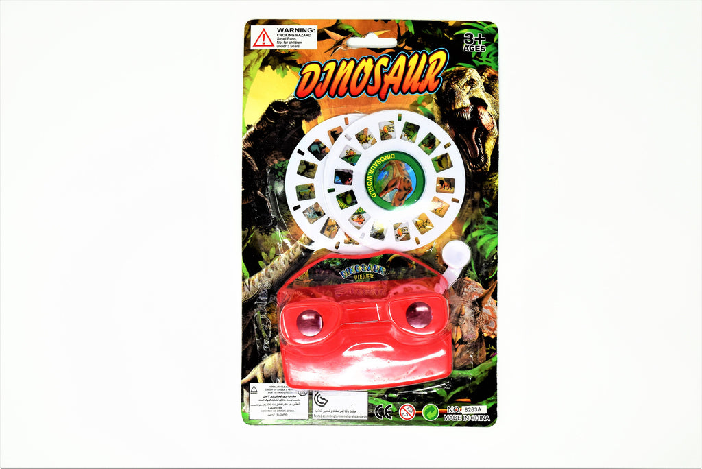 Dinosaur Mini Projector Screen With 2 Reels