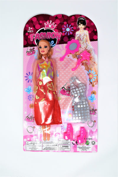 Fashion Doll Set With Accessories