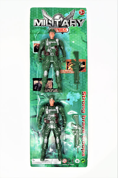 Military Series 2-Pack Action Hero Set