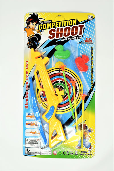 Competition Shooter Dart Set With Targets