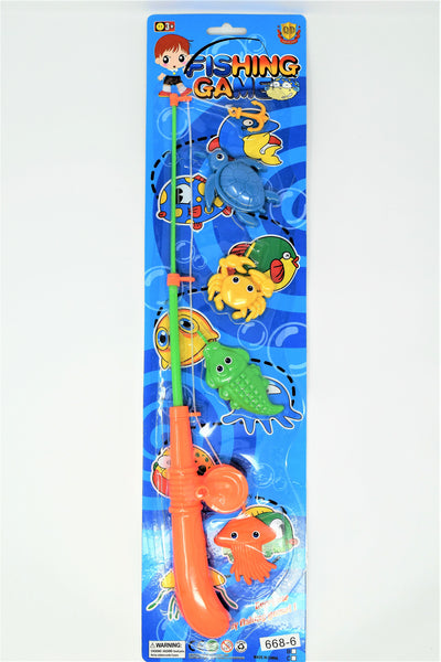 Fishing Game Set With Critters