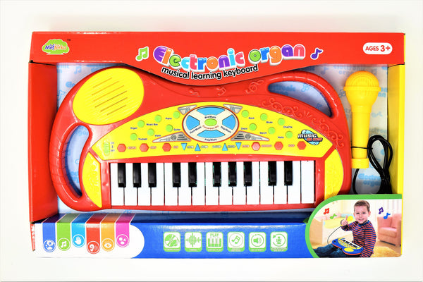 Electronic Organ Piano With A Learning Keyboard