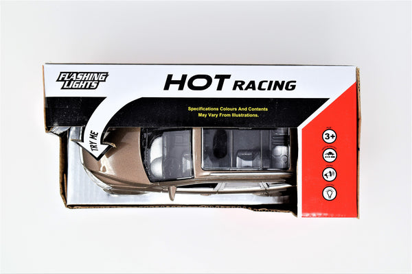 Hot Racing Car With Flashing Lights and Sound