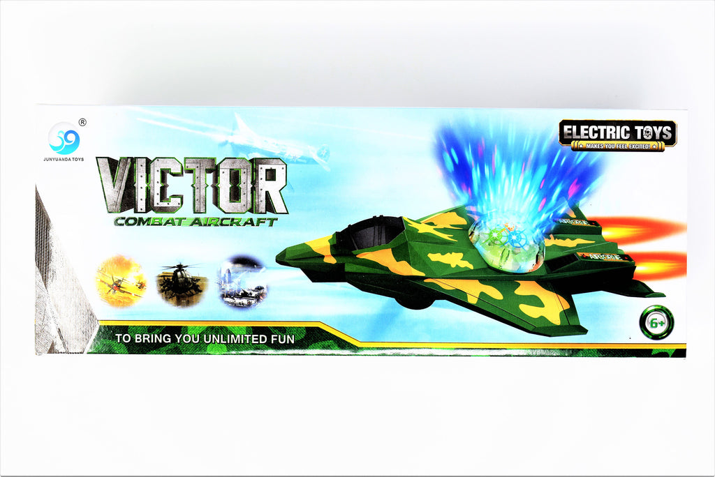 Victor Combat Aircraft Toy