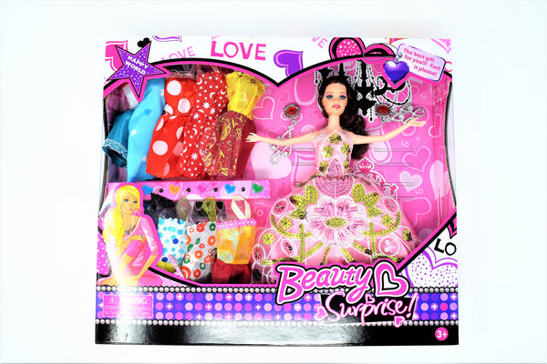 Beauty Surprise Fashion Doll Set