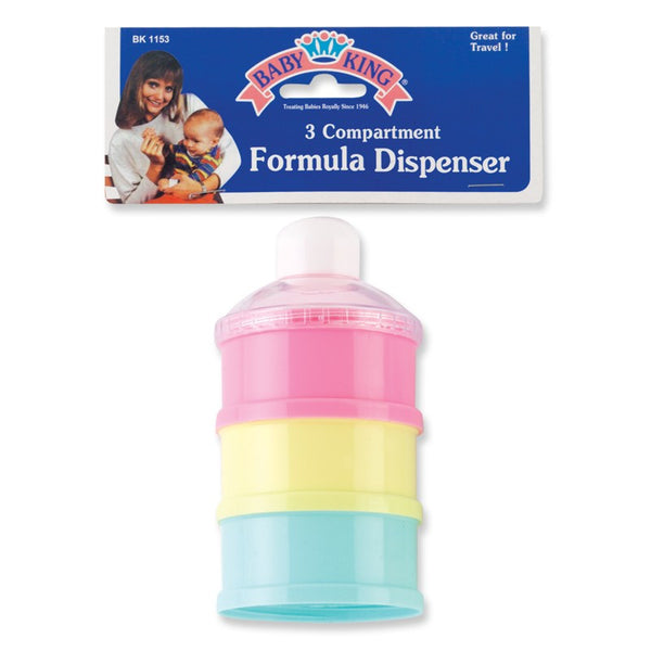 Baby King 3 Compartment Formula Dispenser