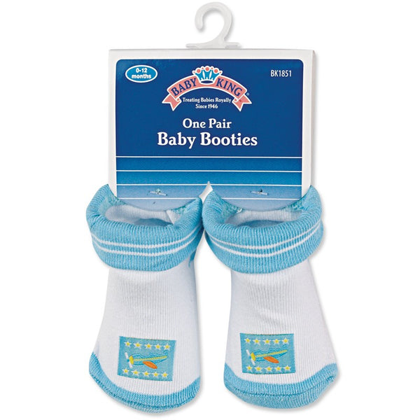Baby King Baby Booties