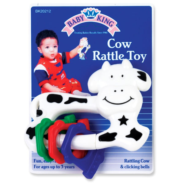Baby King Cow Rattle