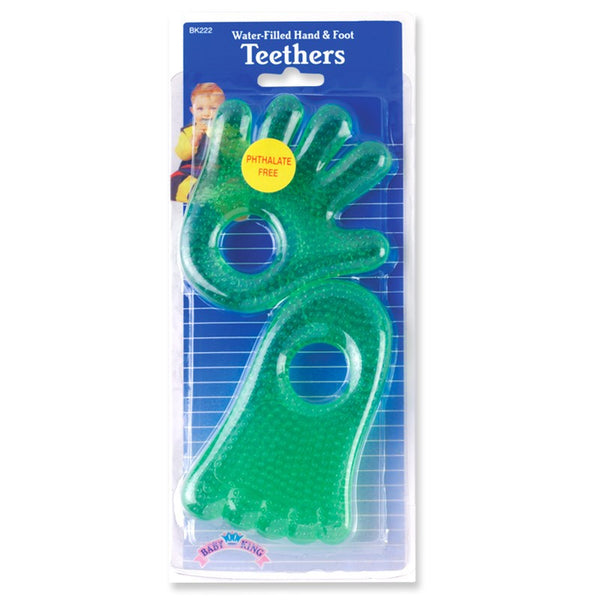 Baby King Water-Filled Hand & Foot Teethers 2-Pack