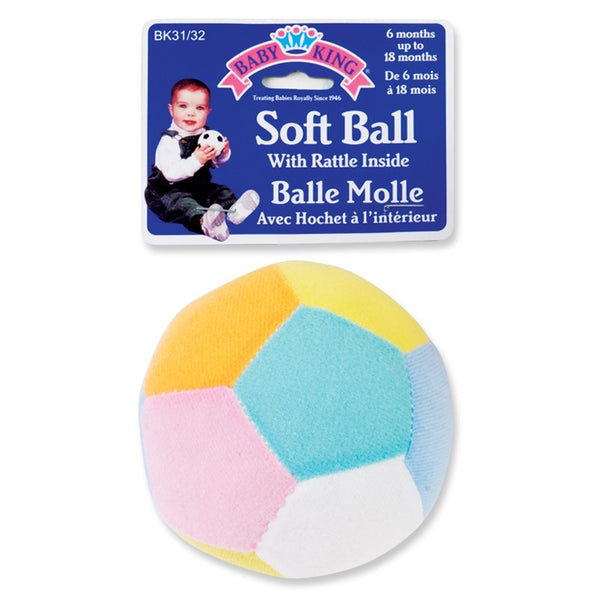 Baby King Soft Ball Toy