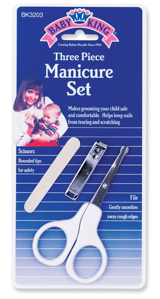 Baby King Manicure Set 3-piece