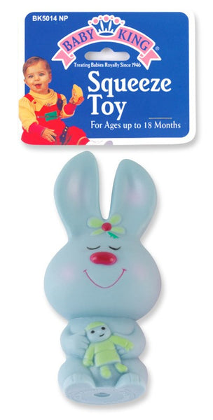 Baby King Bunny Squeeze Toy