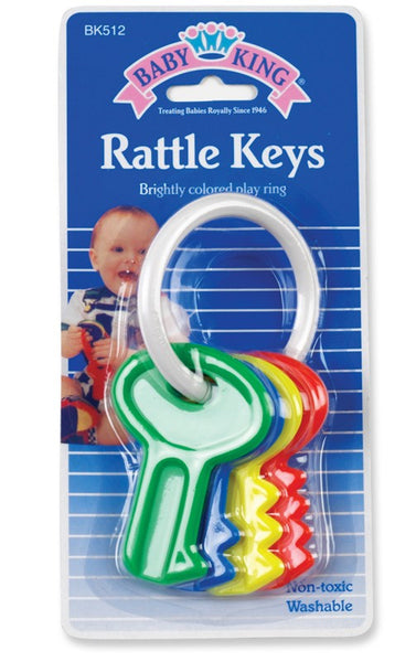 Baby King Key Rattle