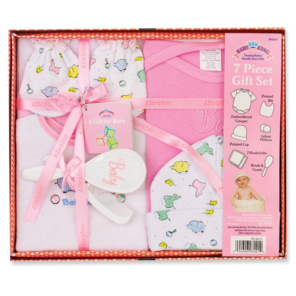 Baby King 7 Pc. Gift Set