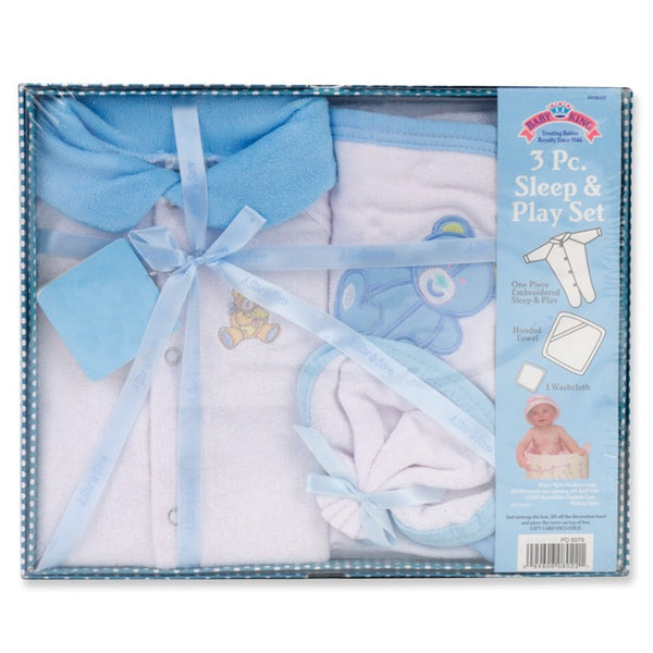 Baby King 3 Pc. Sleep/Play Gift Set