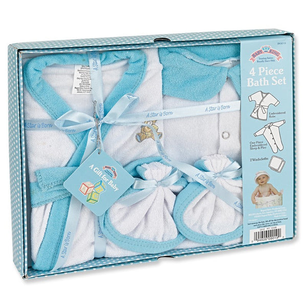 Baby King 4 Pc. Bath Set