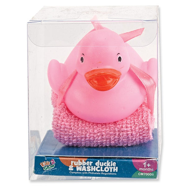 Crib Mates Rubber Ducked W/ Washcloth