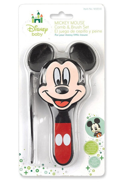 Disney Mickey Mouse Comb And Brush