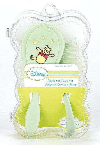 Disney Winnie The Pooh Boxed Comb & Brush
