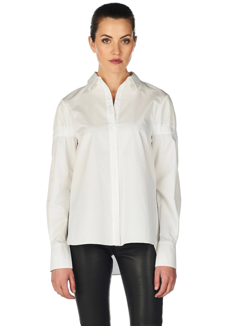 Satin Elastic Shirt