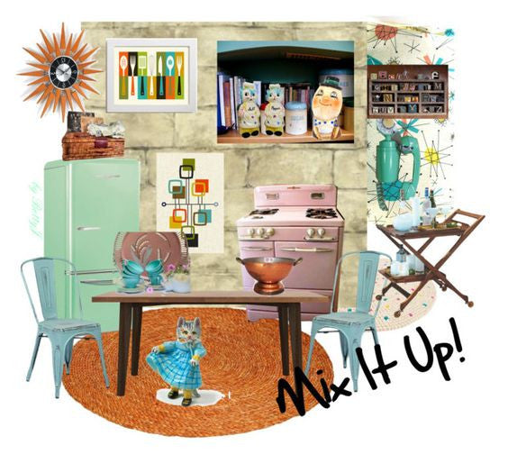Vintage Kitchen and Dining